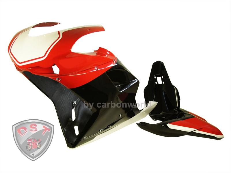 Rennverkleidung Corse für Ducati 848, 1098, 1198