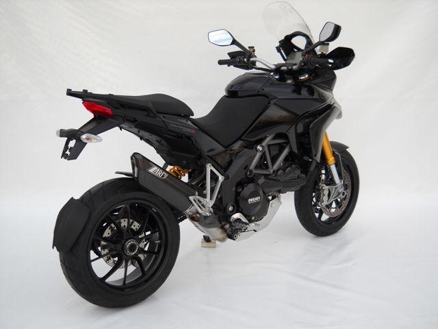 """2-1-2 Komplettanlage """"Penta"""" Alu / schwarz Ducati MULTISTRADA 1200 mit Kat und EG/ABE"""