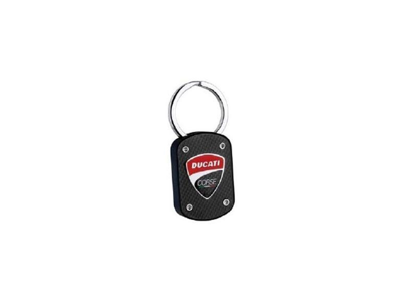 Schlüsselanhänger Ducati Corse Carbonoptik 20038651