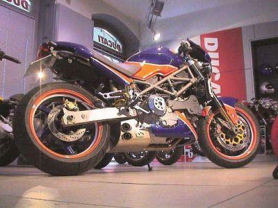 Ex Box Ducati Monster 900 (alle außer Bj.1997)