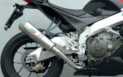 Schalldämpfer Tronconcono Titan Aprilia RSV 4
