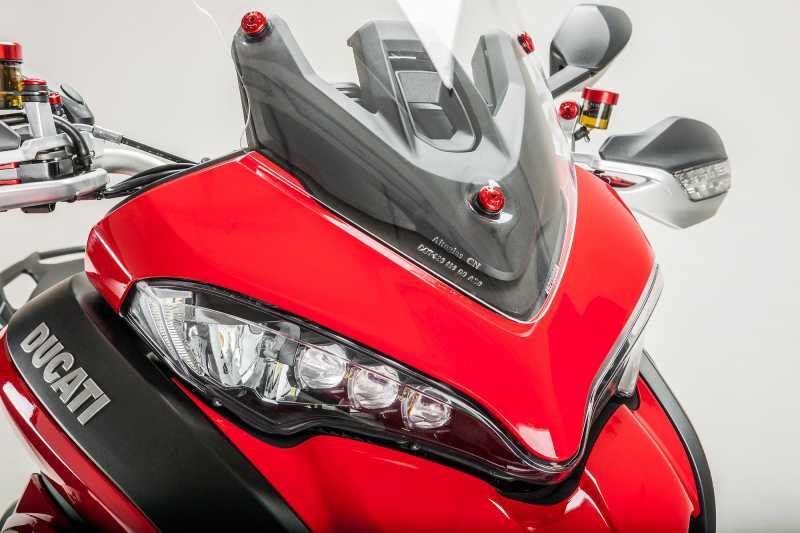 Schrauben Set für Windschild Ducati Multistrada 1200 S DAir ab Bj. 2015