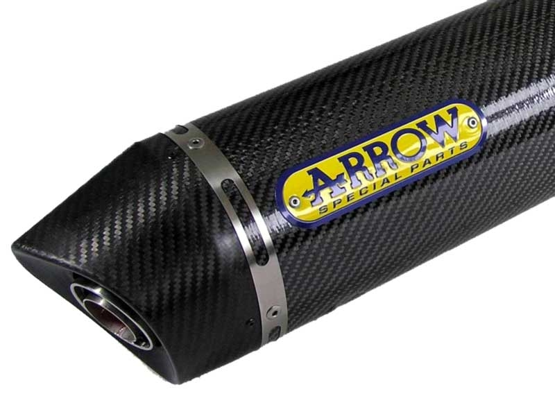SLIP-ON Schalldämpfer Race-Tech Carbon mit Carbonendkappe DUCATI Multistrada 1200