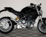 QUAT-D Ex Box VA/glasgeperlt mit Kat (Euro 3), EG-BE Ducati Monster 796 / 1100 / 1100 EVO